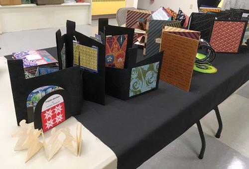 Triple-decker - Artist's book by Carolyn Shattuck