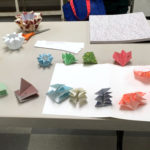 Components for folded paper lantern