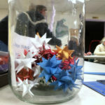 Jar of Froebel stars