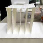 Tunnel book model