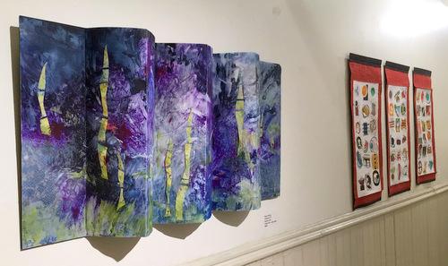 Book Arts Guild of Vermont 2018 exhibit at Studio Place Arts