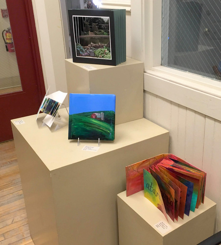 Book Arts Guild of Vermont 2018 exhibit at Studio Place Arts