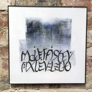 Urban Calligraphy #24 by Marilyn Gillis