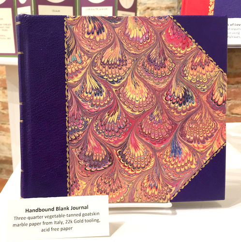 Purple Handbound Journal by Marianna Holzer