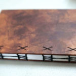 Handbound coptic book by Jill Abilock