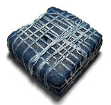 Indian indigo dye lump
