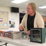 Hope Baker-Carr sharing her artist's books