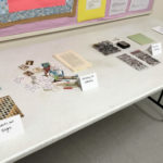 Display at Book Arts Guild of Vermont meeting