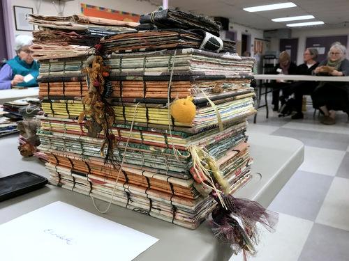 Handmade books by Elizabeth Bunsen