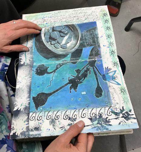 Handmade book by Elizabeth Bunsen