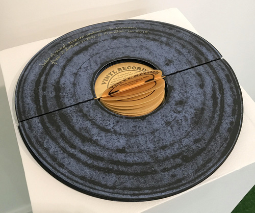 """Vinyl Records"" by Marcia Vogler"