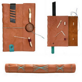 Leather journals by Elissa Campbell