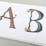Decorated capital letters