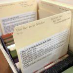 Contents of the Ellen Dorn Levitt collection