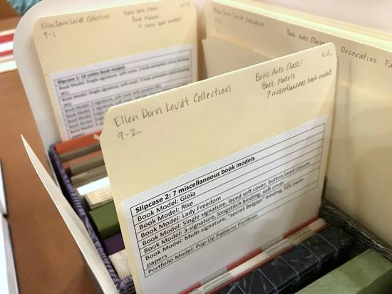 Contents of the Ellen Dorn Levitt collection