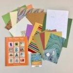 """Helen Hiebert's """"The Paper Year"""" and a custom paper pack"""