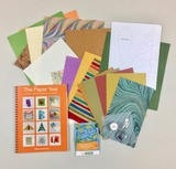"Helen Hiebert's ""The Paper Year"" and a custom paper pack"