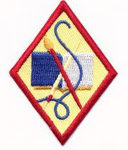 Book Artist Cadette badge