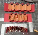 Nested Accordion Pop-Up Fold Books
