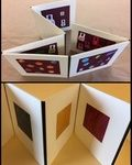 Accordion album with frames