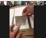 Bookbinding Zoom meeting screenshot